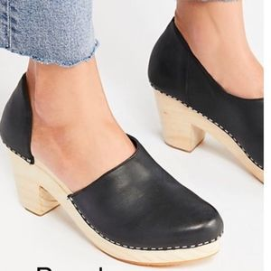Free people Monroe clogs 39 new no box